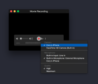Recording your iOS Device screen on your Mac