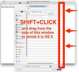 Resize the Open / Save Dialogs in Yosemite – OSXDaily