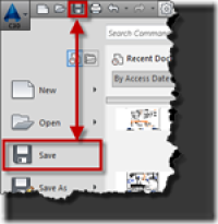 AutoCAD Save – BTL