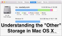"Understanding the ""Other"" Storage space in Mac OS X – OSXDaily"